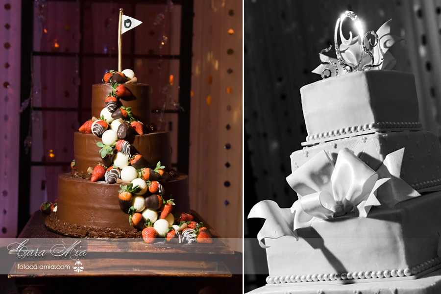 The Groom And Wedding Cakes